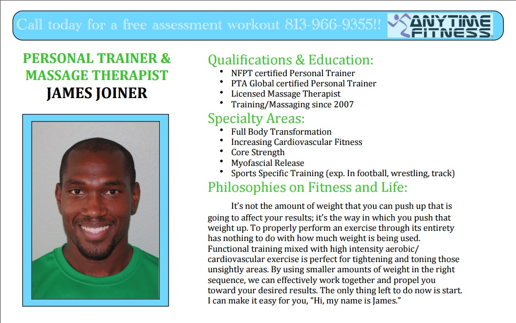 personal trainer bio example personal trainer biography examples 7