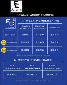 Fit Elements Group Training Classes