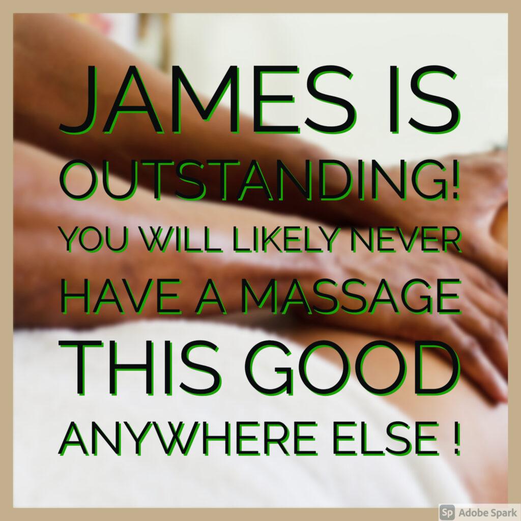 James Joiner Best massage in Tampa Bay